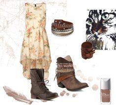 boho style, boho chiy, bohemian, brown boots,