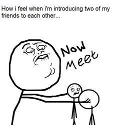 now kiss meme introducing friends