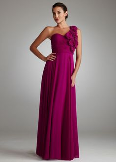If I opt for floor length dresses...I like this style for my bridesmaids