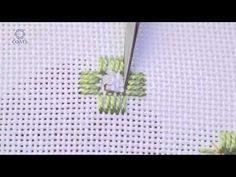 Embroidery - Satin stitch - YouTube