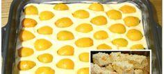 Sypaný koláč meruňkový koláč – bez roboty: Jen nasypat na plech a zalít horkým pudinkem, chuť fantastická! Cereal, Sweet Tooth, Cooking, Breakfast, Health, Food, Anna, Cakes, Basket