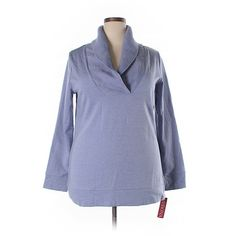 Merona Sweatshirt ($13) ❤ liked on Polyvore featuring plus size women's fashion, plus size clothing, plus size tops, plus size hoodies, plus size sweatshirts, light purple, cotton sweatshirts, lavender top, merona and merona tops