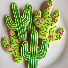 Fiesta Decorated Sugar Cookies-1 dozen by AnnPotterBaking on Etsy
