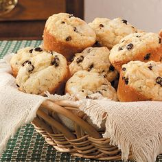 Irish Soda Bread Muffins Recipe -Irish soda bread is traditionally made in a loaf shape, but these muffins have the same terrific flavor with buttermilk, caraway seeds and currants. They are easy to make and delicious served warm. —Lorraine Ballsieper, Deep River, Connecticut