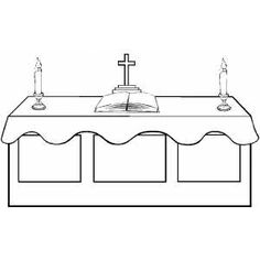 Altars Coloring pages and Coloring
