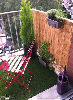 Aménagement de balcon : un havre de tranquillité en centre ville (Lille), Révélation Intérieurs - Côté Maison Projets