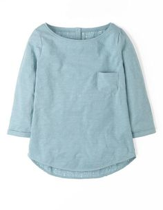 Broderie Back Top WL919 3/4 Sleeved Tops at Boden