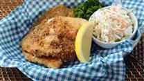 Swai fish are coated in seasoned cornmeal and pan-fried into a tasty, quick and easy weeknight meal. Serve with your favorite vegetable side dish.