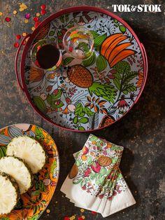 Frutos da natureza dançam na linha Fruto Tropical! #JoanaLiraParaTokStok