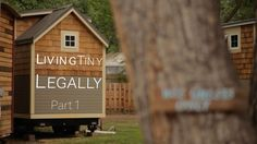 Living Tiny Legally, Part 1 - an educational documentary by Alexis Stephens and Christian Parsons of Tiny House Expedition. It features an in-depth look at the tiny house legal obstacles and inclusive zoning. Tiny House Blog, Tiny House Community, Tiny House Living, Tiny House Plans, Tiny House Design, Tiny House On Wheels, House Blogs, Rv Living, Small Living