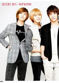 Onew, Taemin and Jonghyun