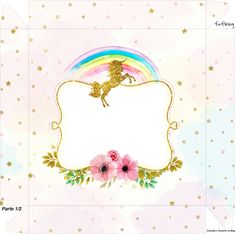unicorn party printables, a complete set for the perfect magical party for kids Unicorn Printables, Party Printables, Free Printables, Unicorn Birthday Parties, Unicorn Party, Birthday Party Themes, Candy Bar Labels, Baby Boy Cards, Unicorns And Mermaids