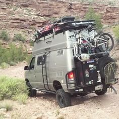 @tinker_bot is out having fun in his rig loaded with Aluminess gear...and other stuff!!