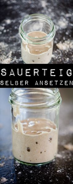 Roggensauerteig selber machen – www.kuechenchaoti… Make rye sourdough yourself – www. Oats Recipes, Milk Recipes, Smoothie Recipes, Bread Recipes, Dessert Sushi, Homemade Pita Bread, Oatmeal Cream Pies, A Food, Food And Drink