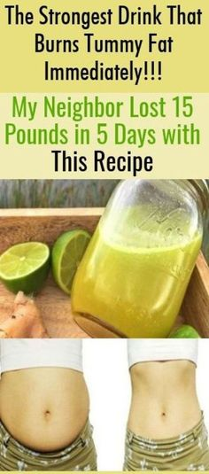 The Strongest Drink That Burns Tummy Fat Immediately! My Neighbor Lost 15 Poun… The Strongest Drink That Burns Tummy Fat Immediately! My Neighbor Lost 15 Pounds in 5 Days with This Recipe – Get Ideas Natural Home Remedies, Herbal Remedies, Health Remedies, Cold Remedies, Weight Loss Drinks, Weight Loss Tips, Lose Weight, Loosing Weight, Reduce Weight