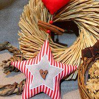 Christmas Ornaments, Holiday Decor, Home Decor, Fabrics, Decoration Home, Room Decor, Christmas Jewelry, Christmas Baubles, Christmas Decorations