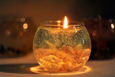 夏を彩る貝殻ジェルキャンドルの作り方 | クラフト