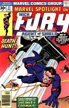 Nick Fury - Marvel Spotlight #31, the Infinity Formula story (Howard Chaykin)