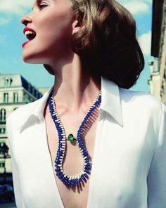 Arizona Muse for Vogue Paris by Inez & Vinoodh