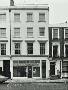 136 Tachbrook Street, Westminster LB: front elevation