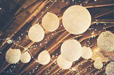 Makea - Hääblogi: DIY - Vintagehenkisiä pitsipalloja kattoon