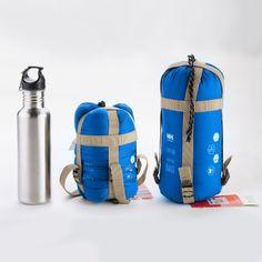 ECOOPRO Warm Weather Outdoor Camping Envelope Sleeping Bag for 3 Seasons (Spring, Summer, Fall)