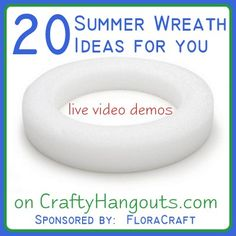 Crafty Hangouts: 20 Summer Wreath Ideas for You