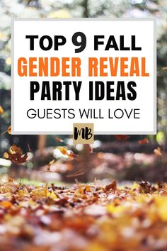 9 Fall Gender Reveal Ideas Guests Will Love The 9 Best Fall Gender Reveal Party Ideas & October Gender Reveal Party & November Gender Reveal Party The post 9 Fall Gender Reveal Ideas Guests Will Love & Fall Family appeared first on Gender reveal ideas . Pumpkin Gender Reveal, Fall Gender Reveal, Halloween Gender Reveal, Gender Reveal Games, Pregnancy Gender Reveal, Gender Reveal Decorations, Baby Gender Reveal Party, Gender Party, Baby Shower Fall