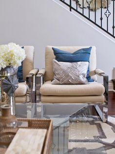 Transitional Living-rooms from Shirry Dolgin on HGTV