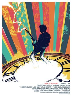 Fantastic Back to the Future illustration of Marty McFly playing guitar at the Enchantment Under the Sea dance.