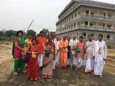 Devotees from Krishna Katha Desh visiting MI Campus