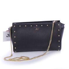 J&C JACKYCELINE Marken Handtasche, Damen- Handgelenktasche,Echte- Ledertasche