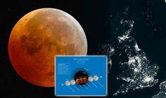 Blood Moon Eclipse, Celestial, Movie Posters, Art, Art Background, Film Poster, Kunst, Performing Arts, Billboard
