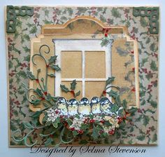 Poppy Stamp Window Dies | Joan's Gardens