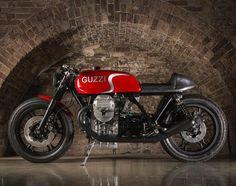 "6,070 Likes, 15 Comments - CAFE RACER caferacergram (@caferacergram) on Instagram: "" by CAFE RACER   Tag your bike #caferacergram   Breathtaking Moto Guzzi Le Mans by Nick Sharp…"""