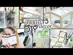 5 DIY Room Decor and Desk Organization Ideas - Art Deco Style - YouTube
