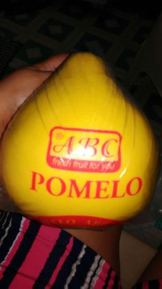 Pomelo from Babe. Thank you. 10-12-16