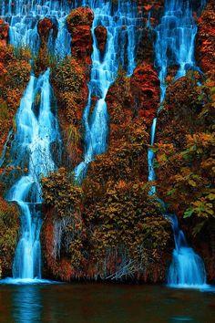 Waterfall Crimea, Ukraine