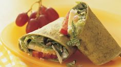 Looking for a hearty dinner using beef and bacon? Then check out this spicy wrap - ready in just 20 minutes.