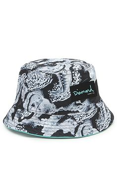 Diamond Supply Co Diamond Floral Bucket Hat at PacSun.com 4250af22983