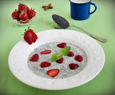 Egy finom Mákleves ebédre vagy vacsorára? Mákleves Receptek a Mindmegette.hu Recept gyűjteményében! Raspberry, Pudding, Fruit, Desserts, Blog, Poppy, Tailgate Desserts, Deserts, Raspberries