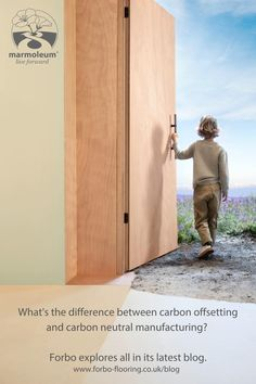 What's the difference between carbon offsetting and carbon neutral manufacturing? Mark Bauer, Environmental Specialist at Forbo Flooring Systems, explains why we should all be striving to make a conscious choice when it comes to choosing building and interior products in our latest blog. #CO2neutral #carbonneutralmanufacturing #environment #Marmoleum #Interiordesign Carbon Offset, Carbon Neutral, Paris Climate, Interior Architecture, Interior Design, Explain Why, Consciousness, Tall Cabinet Storage, Environment