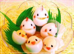 ❤うずら卵の可愛い親子❤(^♢^)❤