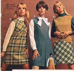 Sears catalog 60s. Cay Sanderson, Colleen corby and Kathy Jackson.