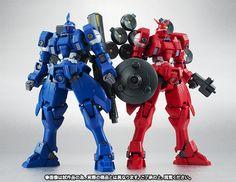 GUNDAM INDIVIDUO: Tamashii Webshop Exclusivo: Robot Damashii (SIDE MS) Vayeate y Mercurius - Nuevas Imágenes [Actualizado 11/13/13]