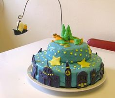 Peter Pan's Neverland cake.  The ship sailed from London, off to Never Land