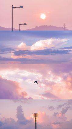 Sky Aesthetic, Aesthetic Themes, Aesthetic Images, Aesthetic Pastel Wallpaper, Aesthetic Backgrounds, Aesthetic Wallpapers, Iphone Background Wallpaper, Scenery Wallpaper, Pretty Wallpapers