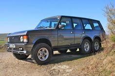 Speedmonkey: Spotted - 6 wheel drive Range Rover