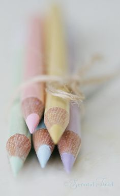 Small Bundle of some of my Pastel Watercolour Pencils