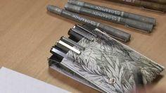 Derwent Graphik Line Maker Pens and Inspire Me Books